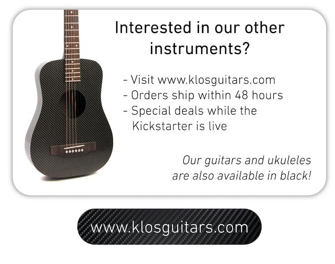 Carbon Fiber Ukuleles and Guitars | KLŌS Guitars by KLOS