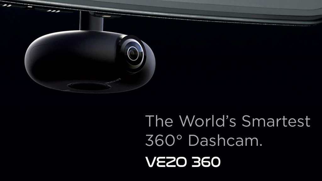 VEZO 360 - The First 4K 360˚ Smart Dash Cam