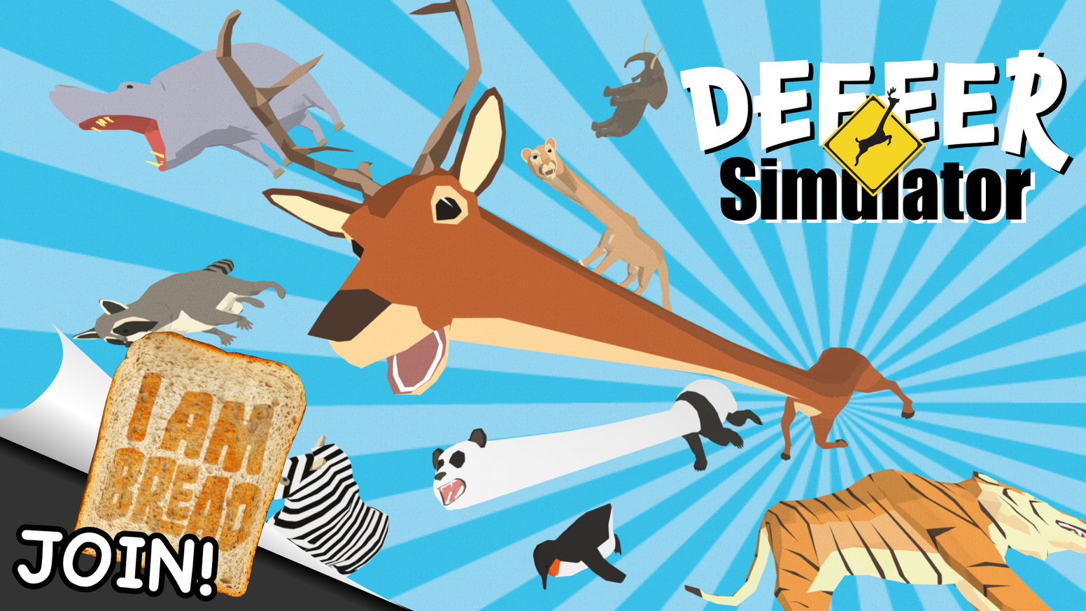 DEEEER Simulator : Your Average Everyday Deer Game by ...