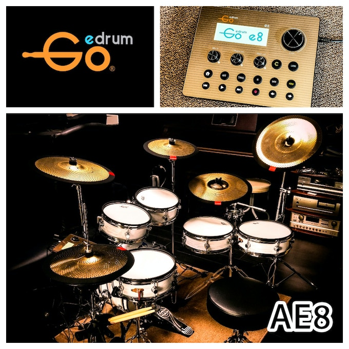 AE8 Series - Our Most Hi-End Edrum system