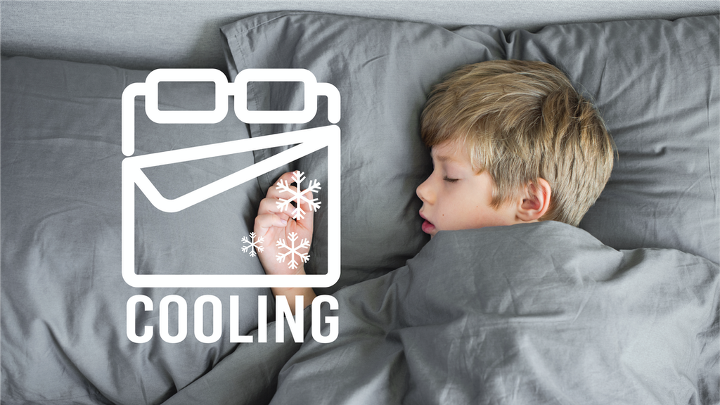Cooling Bed Technology, Fresh & 99% Anti-bacterial