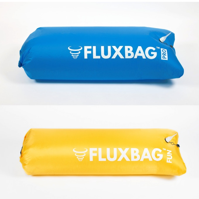 Top: FLUXBAG PRO (140L, Nylon) Bottom: FLUXBAG FUN (100L, Polyester)