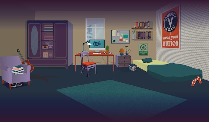 Millenials' room