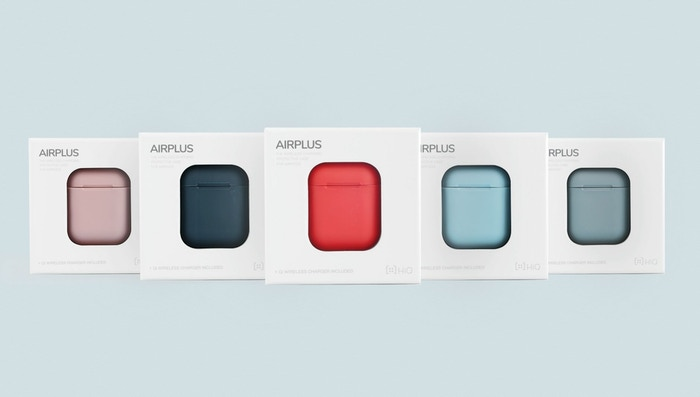 A colourful case with wireless charging for your AirPods.