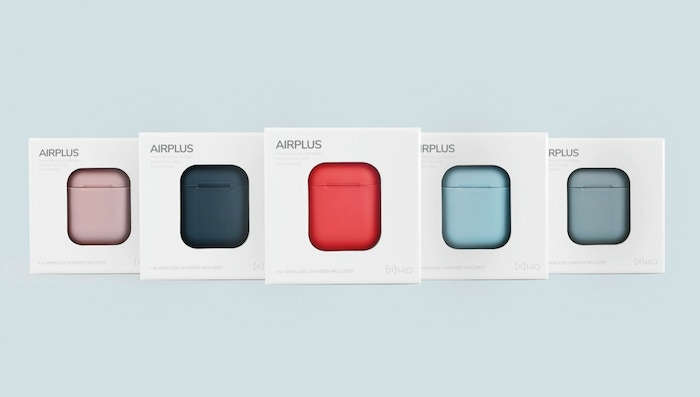 A colourful case with wireless charging for your AirPods. With drop proof, dust proof, water spill resistant.