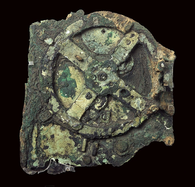 The most well known fragment of the Antikythera Mechanism