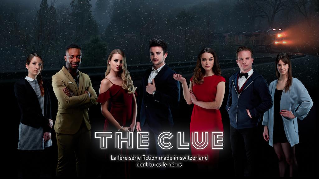 THE CLUE : 1ère série fiction Swiss made dont tu es le héros project video thumbnail
