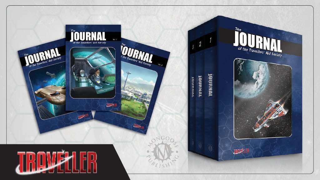 Traveller RPG: The Journal of the Travellers Aid Society project video thumbnail