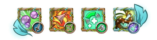Gifts are very powerful. A good combination might turn any dungeon into a walk in the park, while a bad one could completely ruin your strategy!