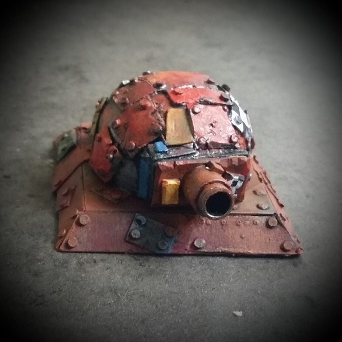 Small turret with booom cannon (light weapons set)
