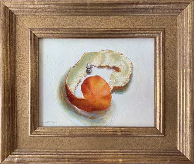 Pledge $1500 or more: Ann Getsinger framed still-life painting