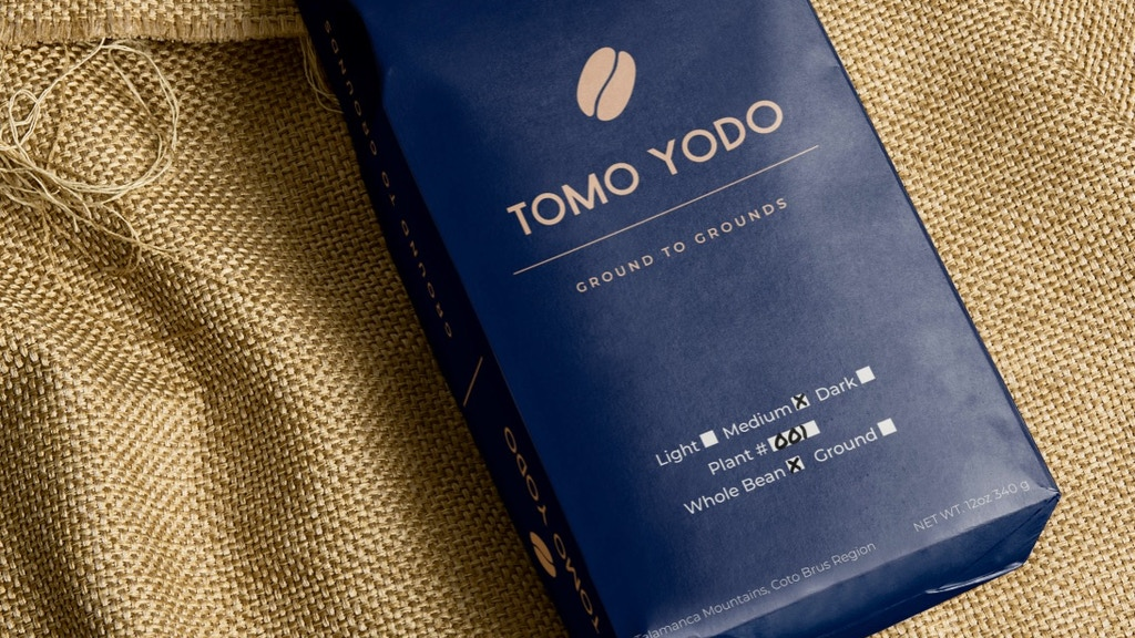 Tomo Yodo Coffee- Ground to Grounds project video thumbnail