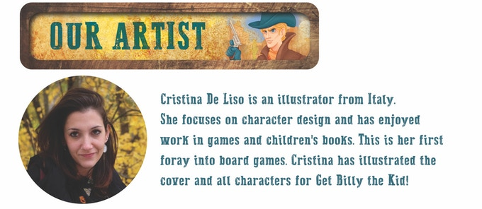 Cristina makes this game a true Spaghetti Western!
