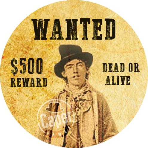 Get Billy the Kid! Turn Token