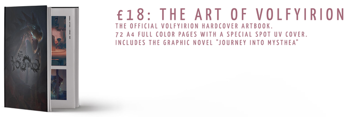 The Art of Volfyirion: £18