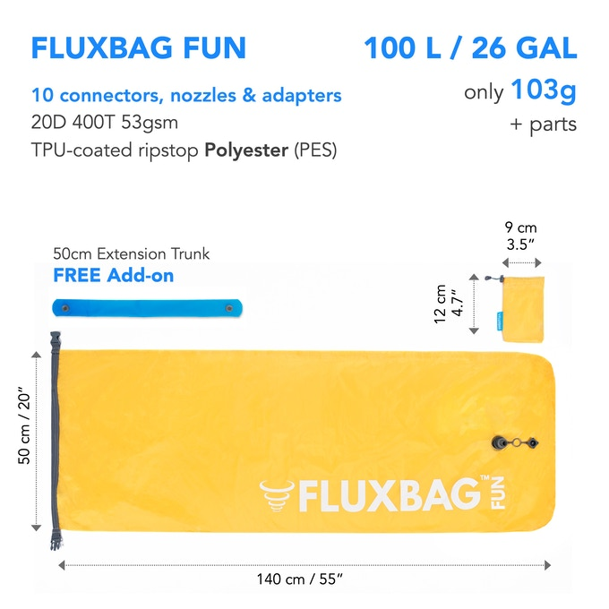 FLUXBAG FUN specs