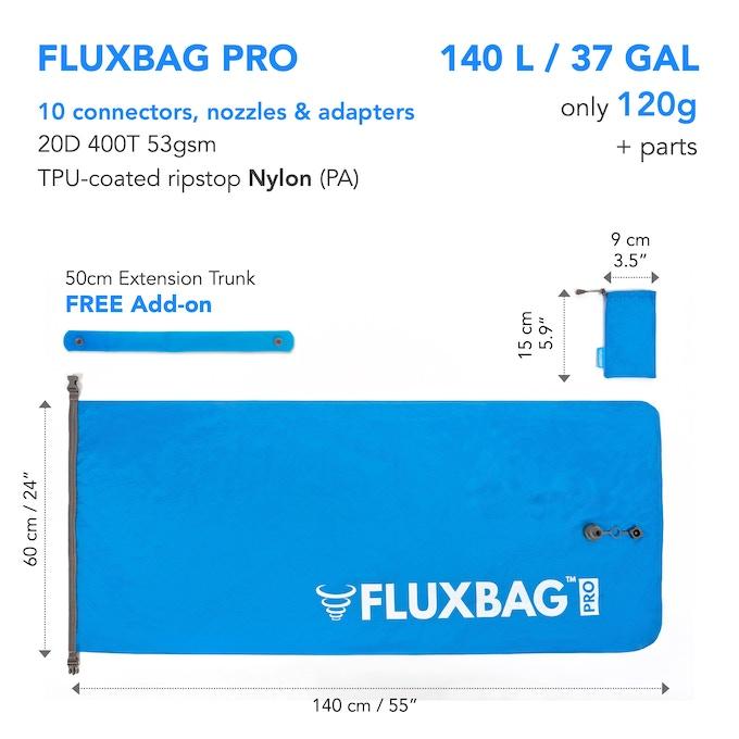 FLUXBAG PRO specs