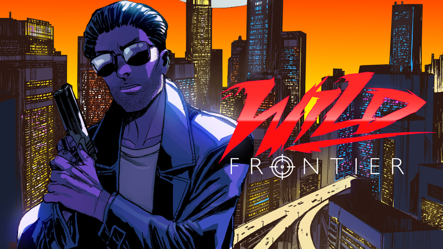 New cyberpunk comic book about a rookie agent chasing a brutal serial killer!