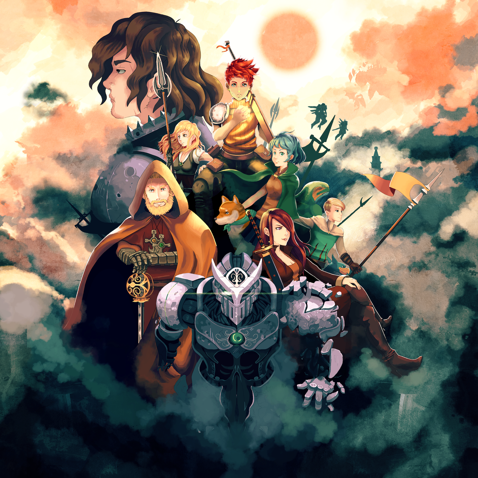 Chained Echoes - a 16bit fantasy RPG with mechs and airships