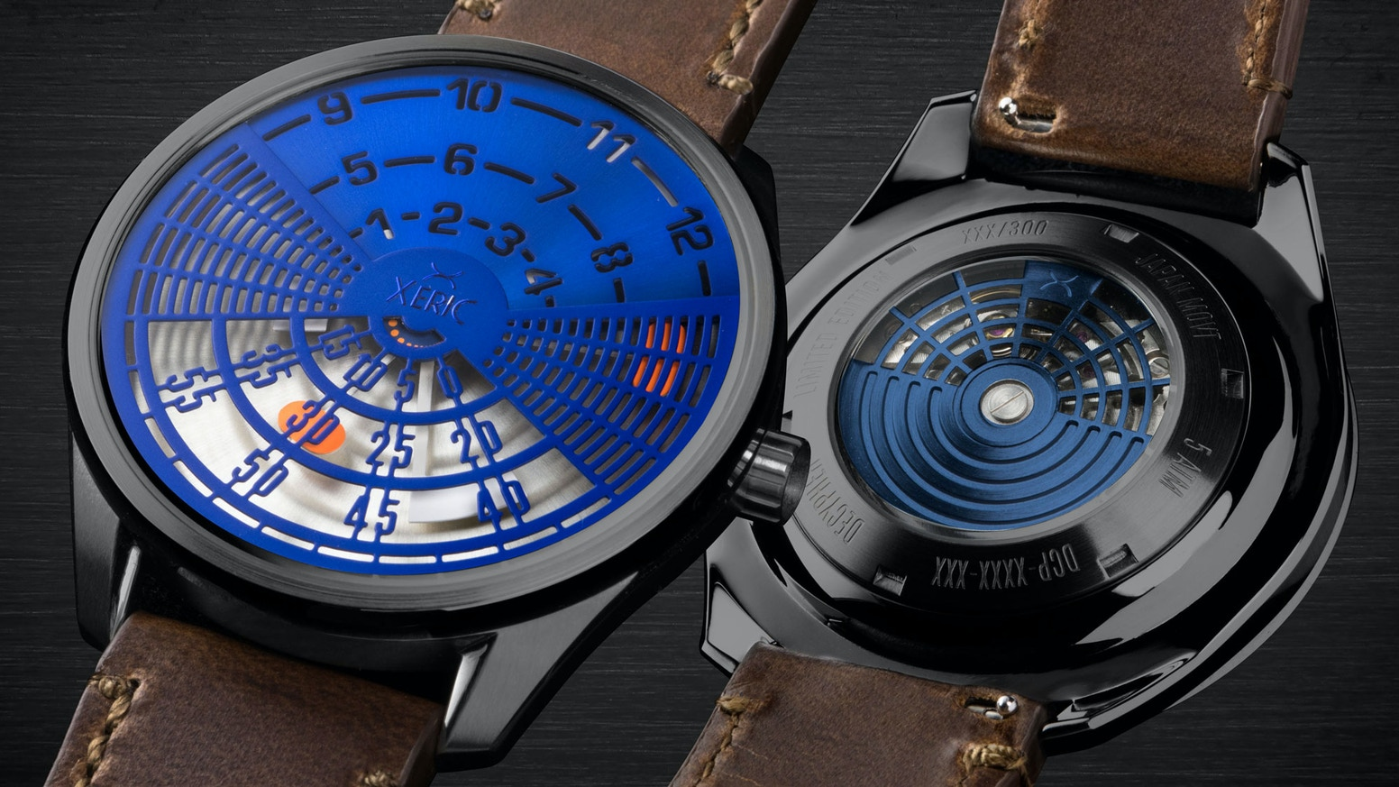 Our rarest collection yet with innovative time displays and tritium gas tubes. The limited edition Cypher & Decypher automatic watches.