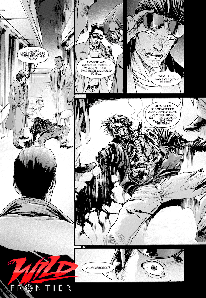 Wild Frontier Chapter 1: Agent Sykes first day on the case as a member of Black Raven. Who is the Phantom Killer?