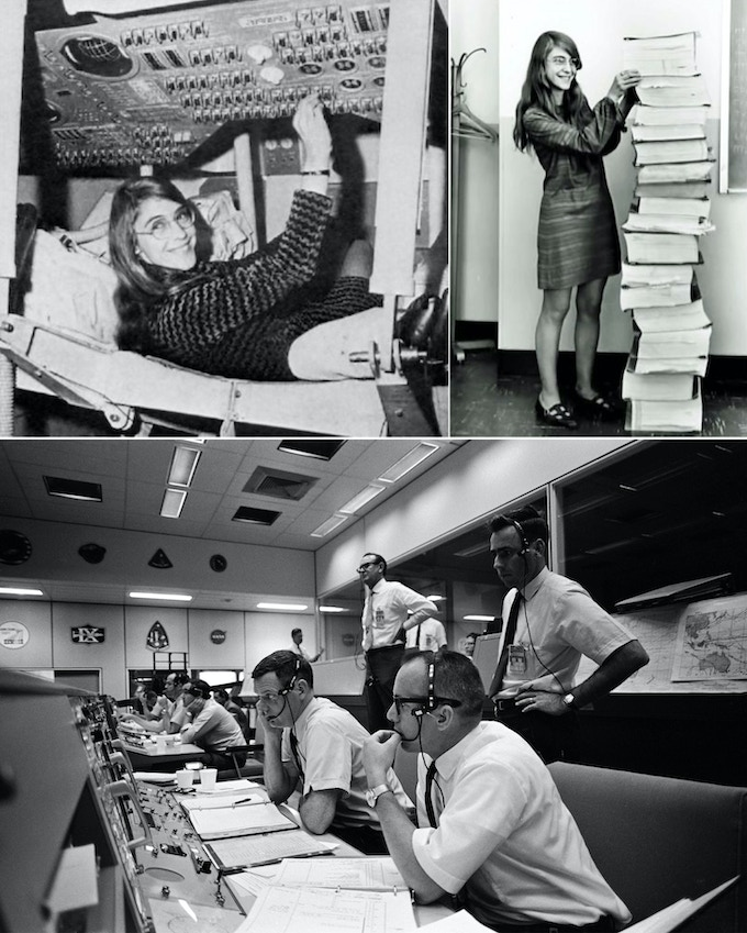 The Men and Women of Apollo 11 Who Made it All Possible. Margaret Hamilton's Coding Contribution to the Success of Apollo 11 was Critical.