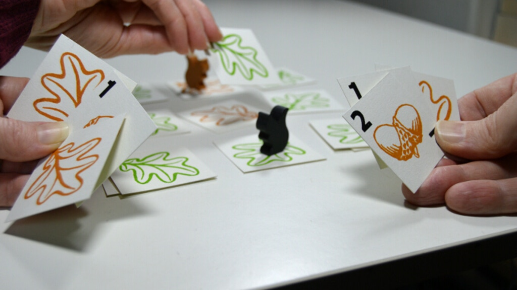 Squirrel - a pocket tabletop game for 2 foragers. project video thumbnail