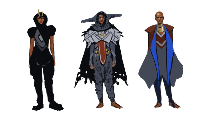 Second set of concept art for the Dihoma - Art by T'umo Mere