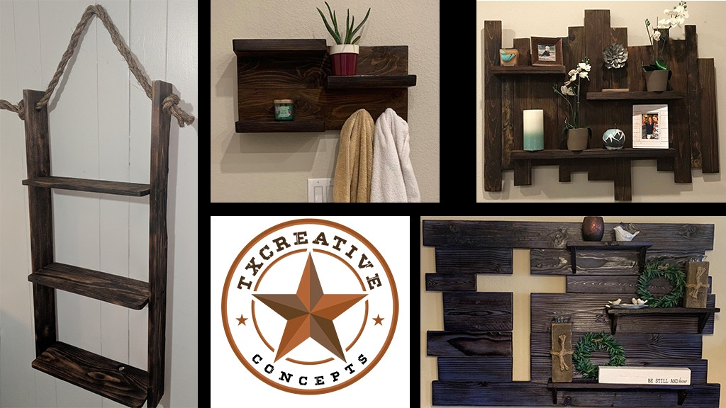 Project image for Tx Creative Concepts: Rustic Shelves
