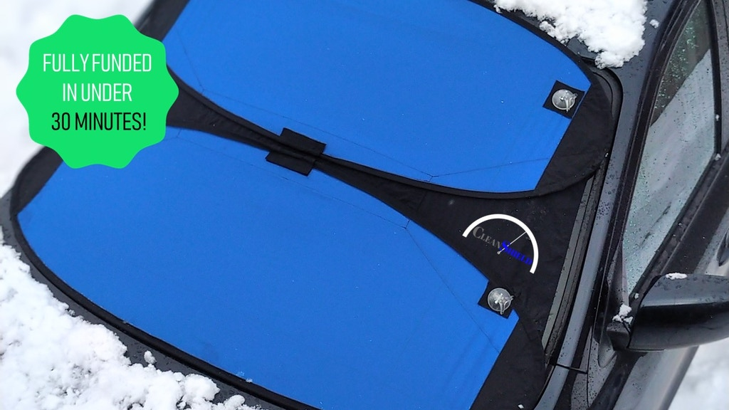 THE CLEANSHIELD - The ultimate windshield cover