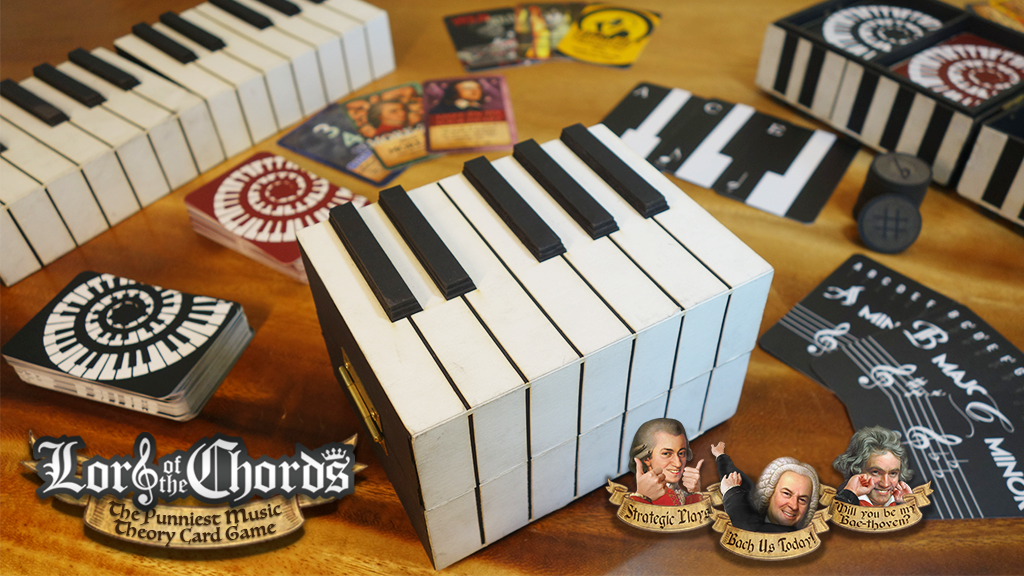 Lord of the Chords: The Punniest Music Theory Card Game! project video thumbnail