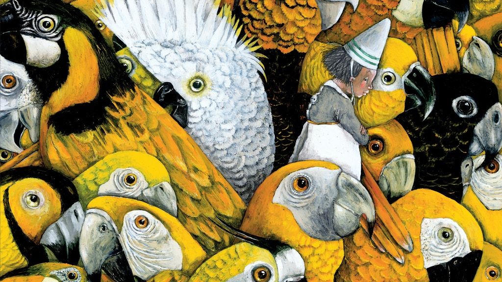 The Golden Cage: a deliciously dark European picture book