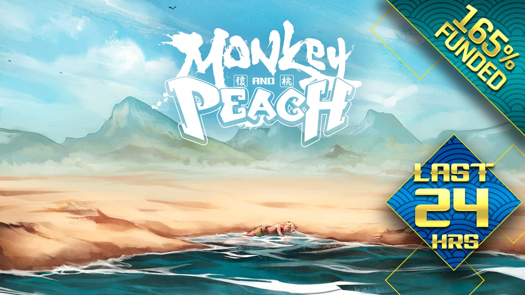 Monkey and Peach project video thumbnail