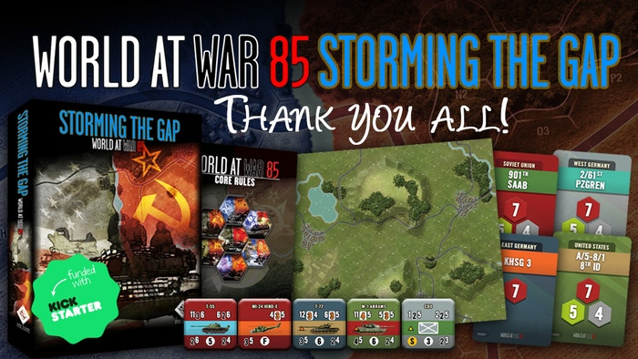 Missed the Kickstarter, not a problem. You still have a chance to get a deal and get ALL 15 stretch goals included.