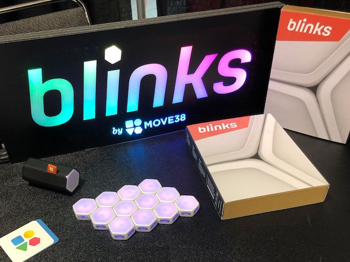 Wanted to make the Blinks sign out of Blinks, but we only have the samples you see here