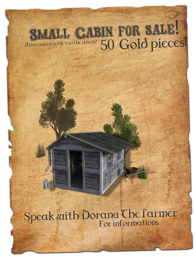 Small cabin for sale