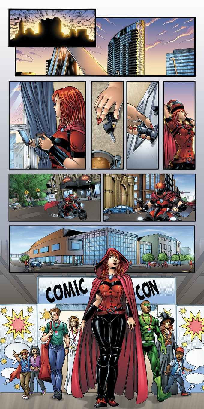 Scarlet Goes to Comic-Con