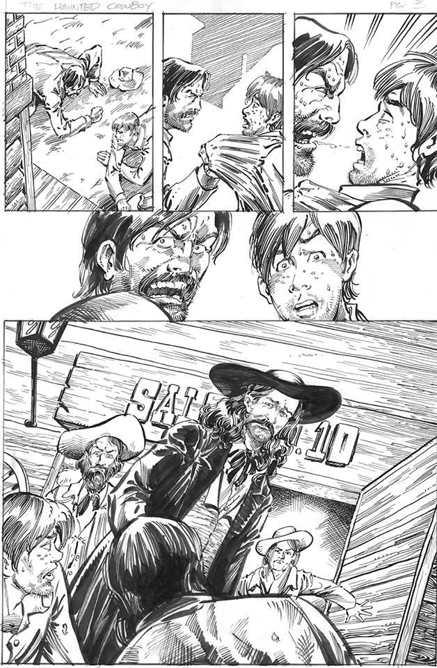 Page 3 (pencils by Fernando Ruiz/inks by Kim DeMulder)