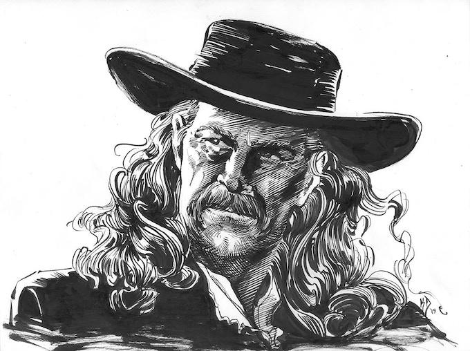 Kim DeMulder's rendition of Wild Bill Hickok! Available as a reward!