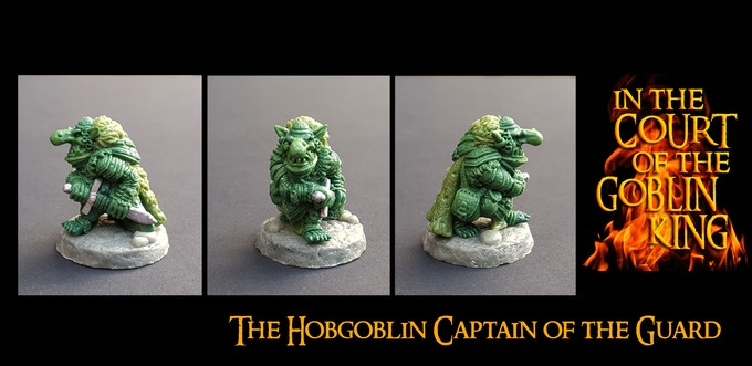 The Hobgoblin Captain of the Guard Add-on