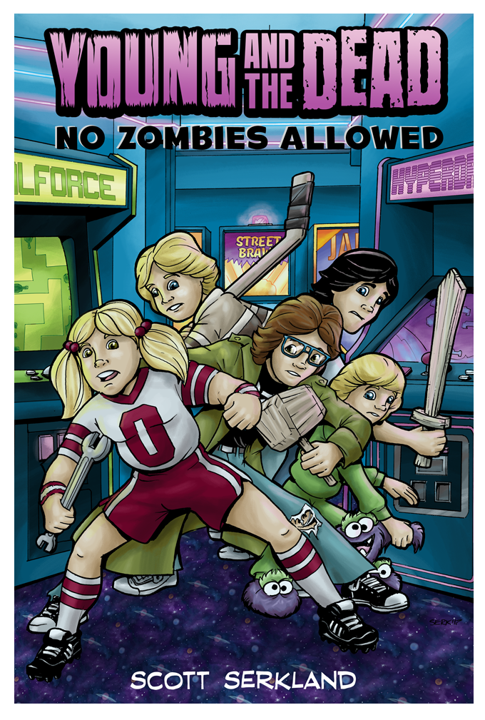 Young and the Dead: No Zombies Allowed Issue 4 Cover Art