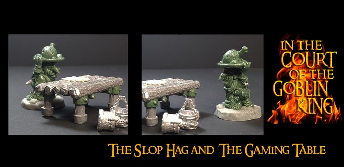 The Slop Hag and the Gaming Table Add-on (both separate)