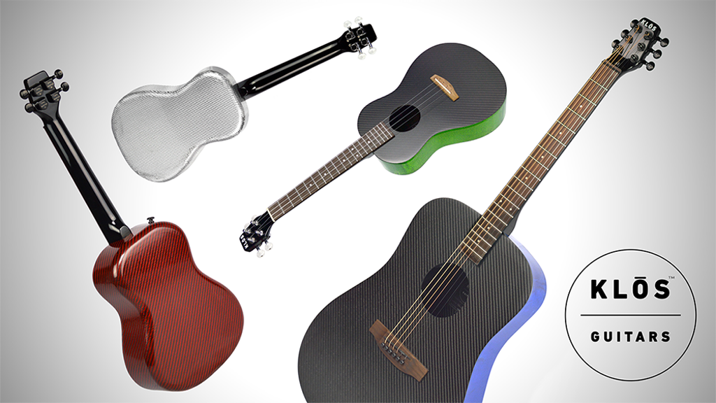 Carbon Fiber Ukuleles and Guitars | KLOS Guitars