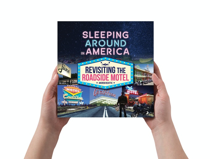 Sleeping Around in America is 8.5 inches square