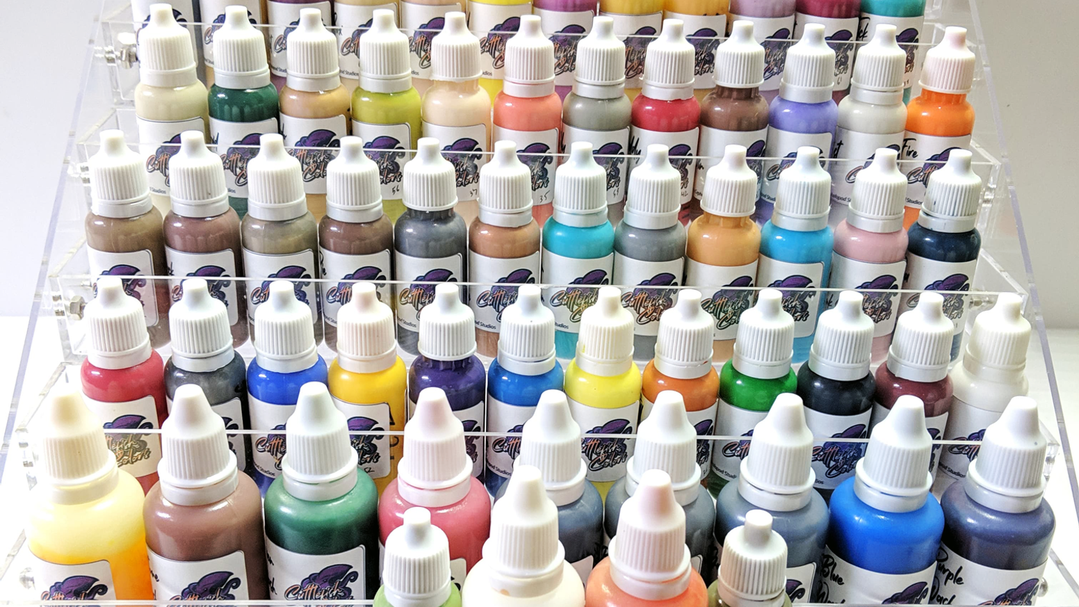 Cuttlefish Colors is a miniature hobby paint line created by gamers for gamers!