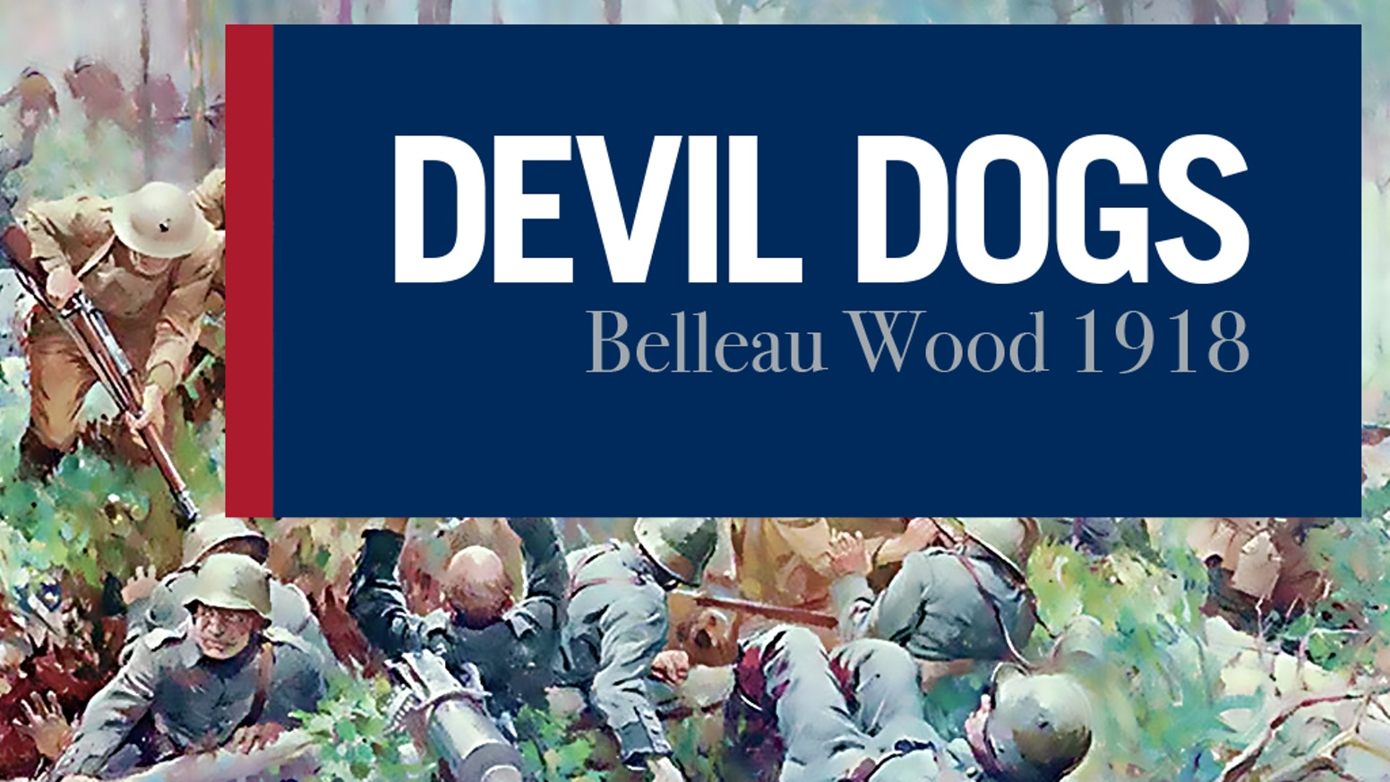 A hex and counter war game on the US Marine's major fight in World War I at Belleau Wood.  Playable by 2 in under 3 hours.  No dice!