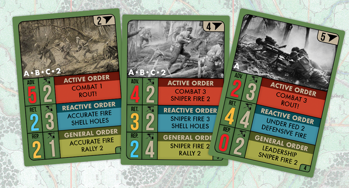 Sample Allied Cards
