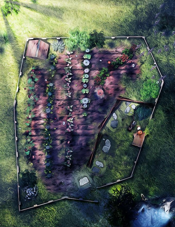 The Garden map