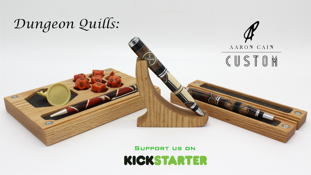 c8478e0ca4a Dungeon Quills by  Aaron Cain by Aaron Cain — Kickstarter