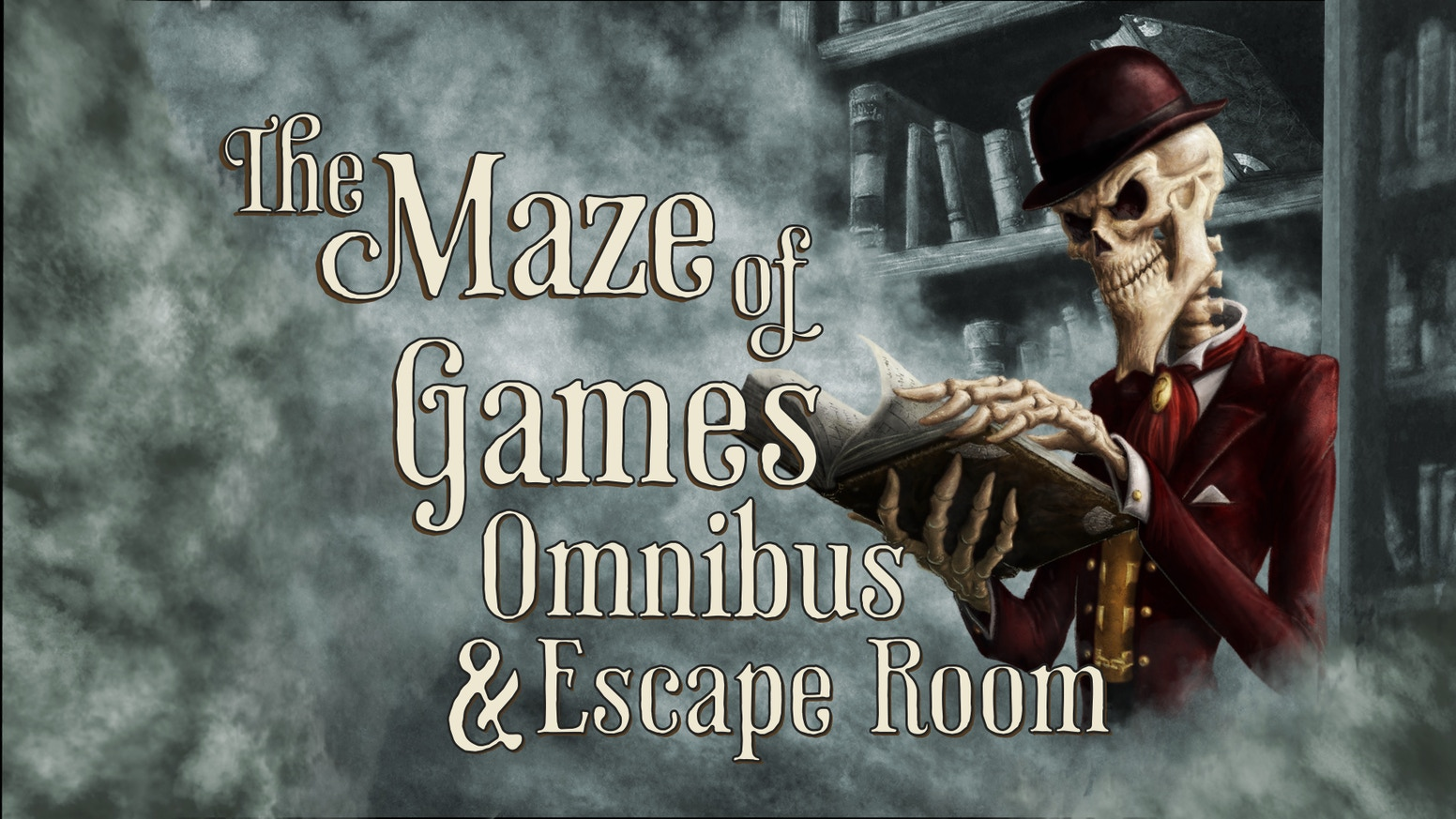A new book, new puzzles, and an escape room for Mike Selinker and Pete Venters' epic puzzle novel The Maze of Games.